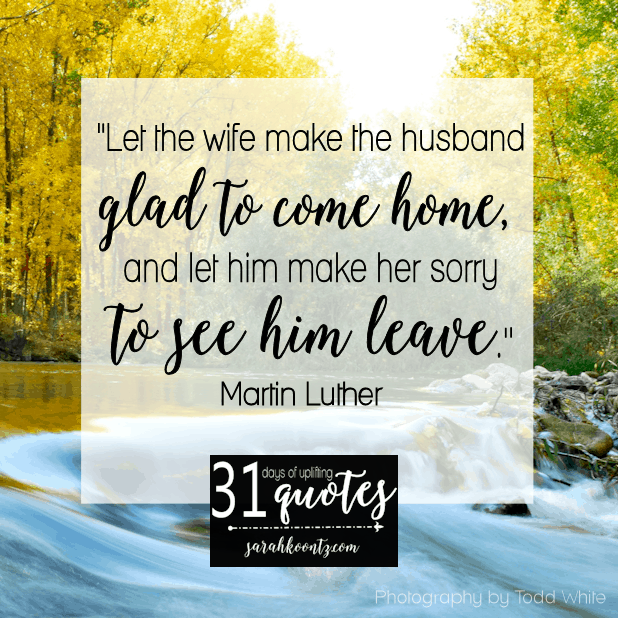 Martin Luther On Marriage: 7 Quotes In 7 Days