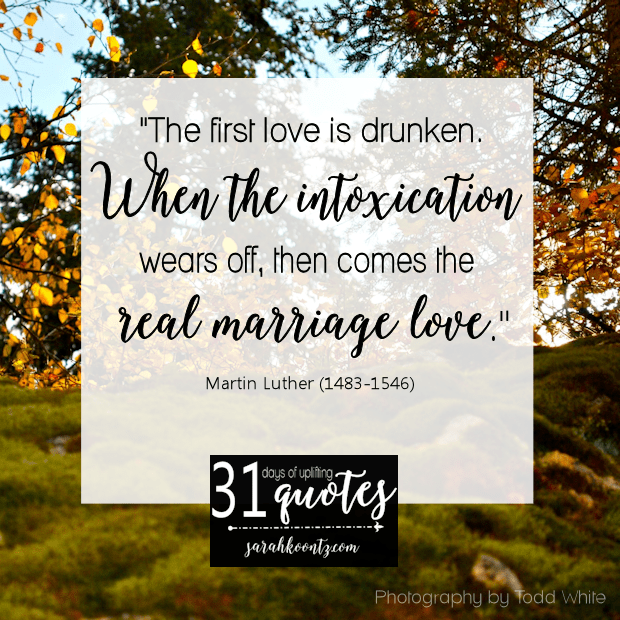 Martin Luther On Marriage 7 Quotes In 7 Days Living By Design