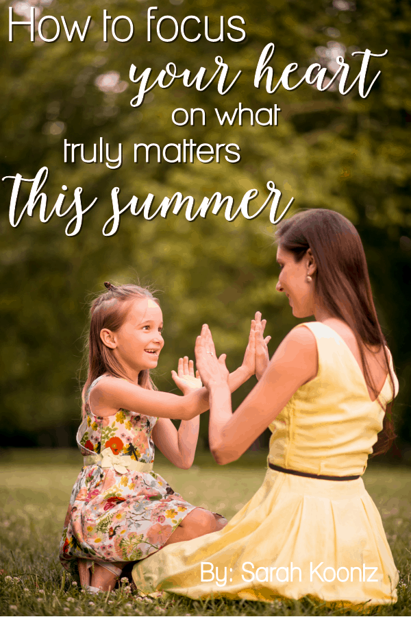 We can succeed at creating a positive environment for our children to grow and thrive during the summer break without sacrificing our own sense of well-being in the process. All that is required to accomplish this goal is a few simple strategies, a slight shift in expectation and a lot of prayer. Christian Mom | Summer Mom Tips | Summertime | Parenting Advice