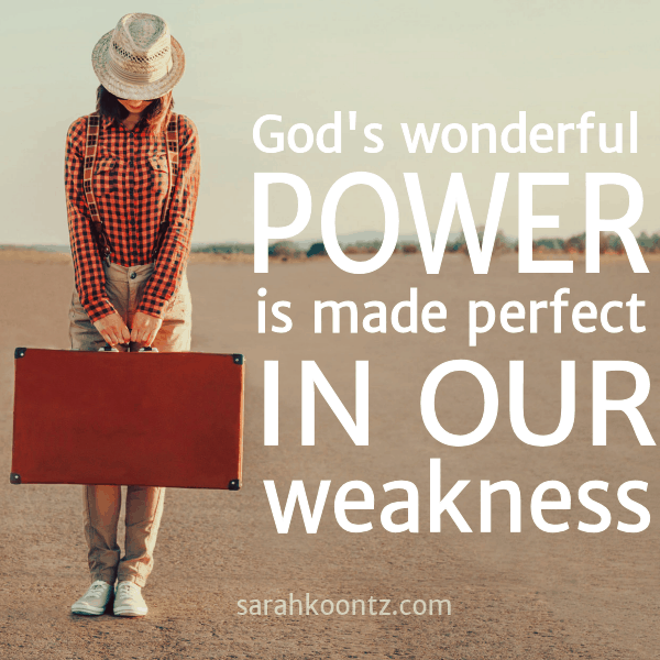 God 39 s wonderful power is made perfect in our weakness for When was it s a wonderful life made