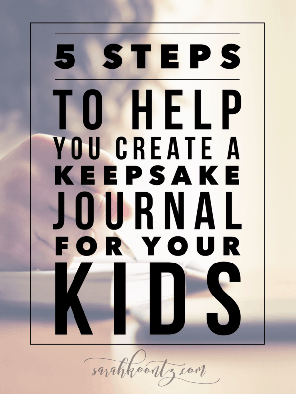 5 Steps to Help You Create a Keepsake Journal for your Kids – Wanted Poster Letters