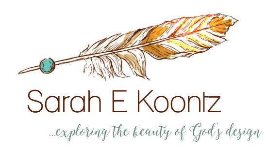 Sarah Koontz - Christian Writer and Speaker