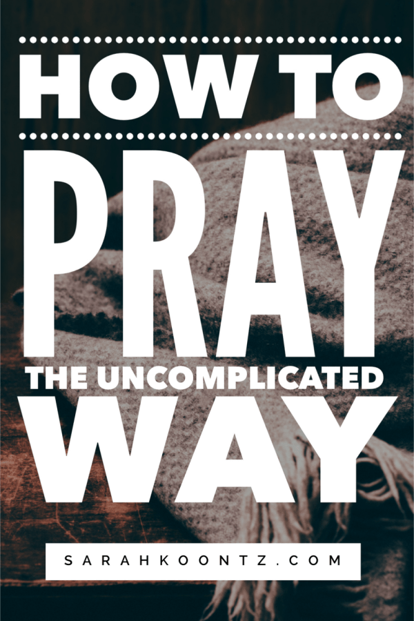 God can't wait to have a relationship with us…prayer is the starting point for that relationship. Connecting with our Creator through prayer doesn't have to be complicated. Here's a simple guide for anyone who's struggled with knowing how to pray. | Prayer Guide | Inspiration and Faith | Christian Living | Spiritual Growth