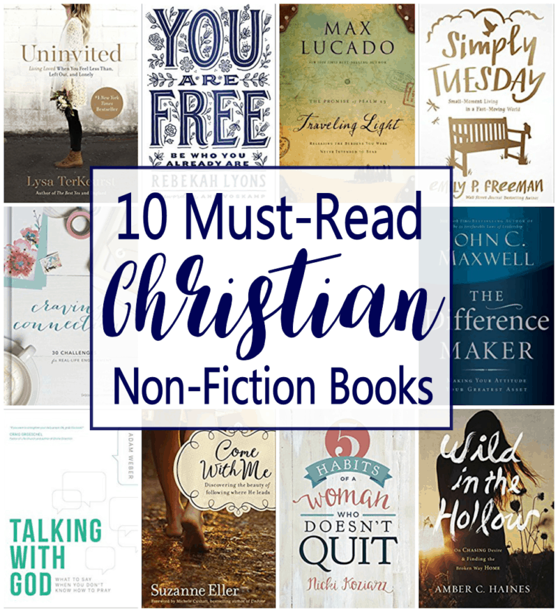 Summer reading list for christian moms free printable list includes 5 top christian historical fiction authors 10 must read christian nonfiction titles malvernweather Images