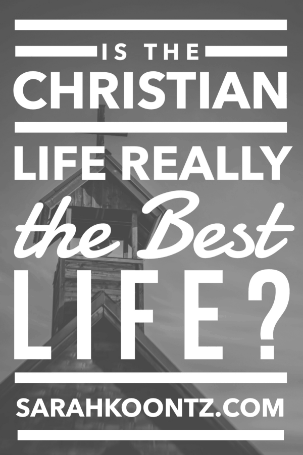 "The most frequent reason teens leave the Christian life can be summed up in 5 simple words: ""I just want a break."" Is the Christian Life the Best Life? I cannot answer this question for you. But I'd like to introduce you to a friend of mine who might be able to help. 
