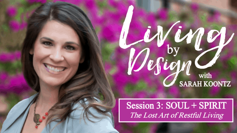 Living by Design with Sarah Koontz