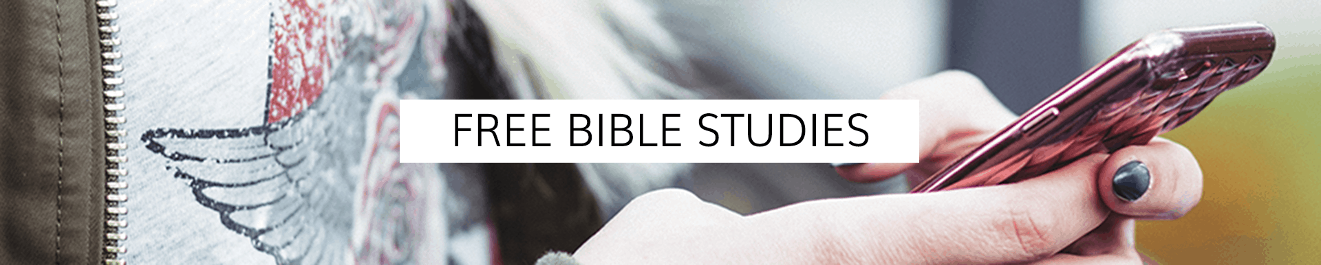 Free Bible Studies | Living by Design Ministries with Sarah Koontz