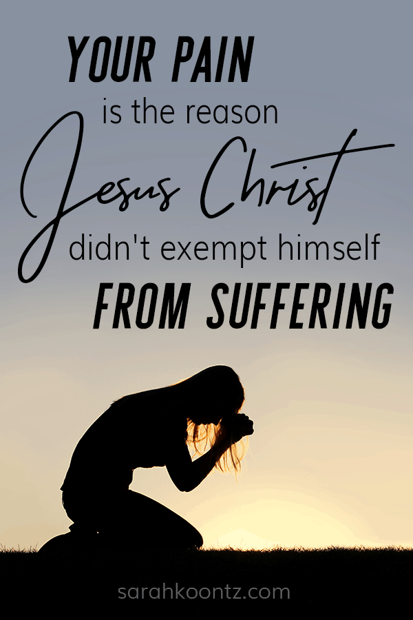Although Jesus never stopped being God, He allowed Himself to experience human suffering. Why? Why would He willingly endure the worst of all human experiences—death upon a cross? Suffering | Painful Loss | Grief and Mourning | Trials and Tribulations | Christian Encouragement
