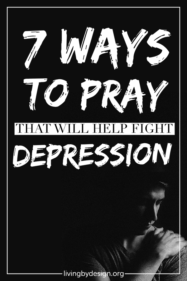 This article is packed with the best strategies I've found in my personal mission to help Christians fight depression. Depression is a complex problem that needs multi-dimensional solutions. I encourage you to seek those answers with your whole heart, using prayer as an effective tool to identify and address the root causes of your depression and strengthen you against attack.