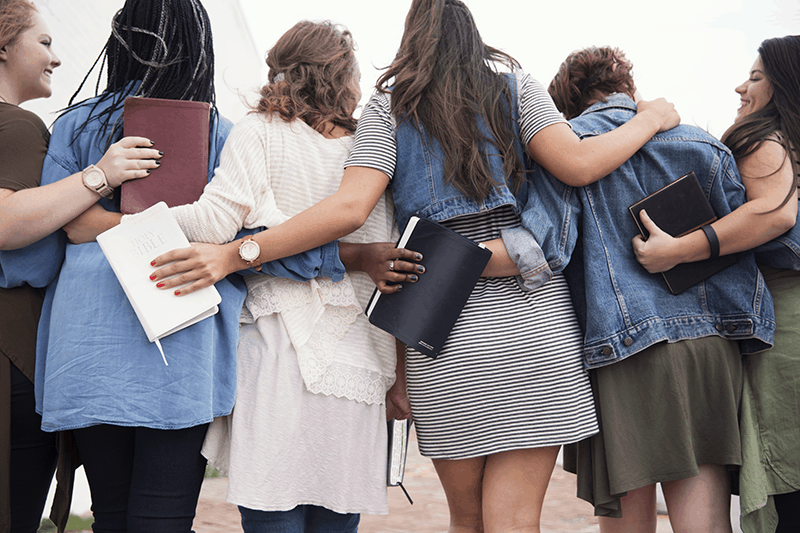 Christian Women with Bibles | 2018 Annual Report for Living by Design Ministries