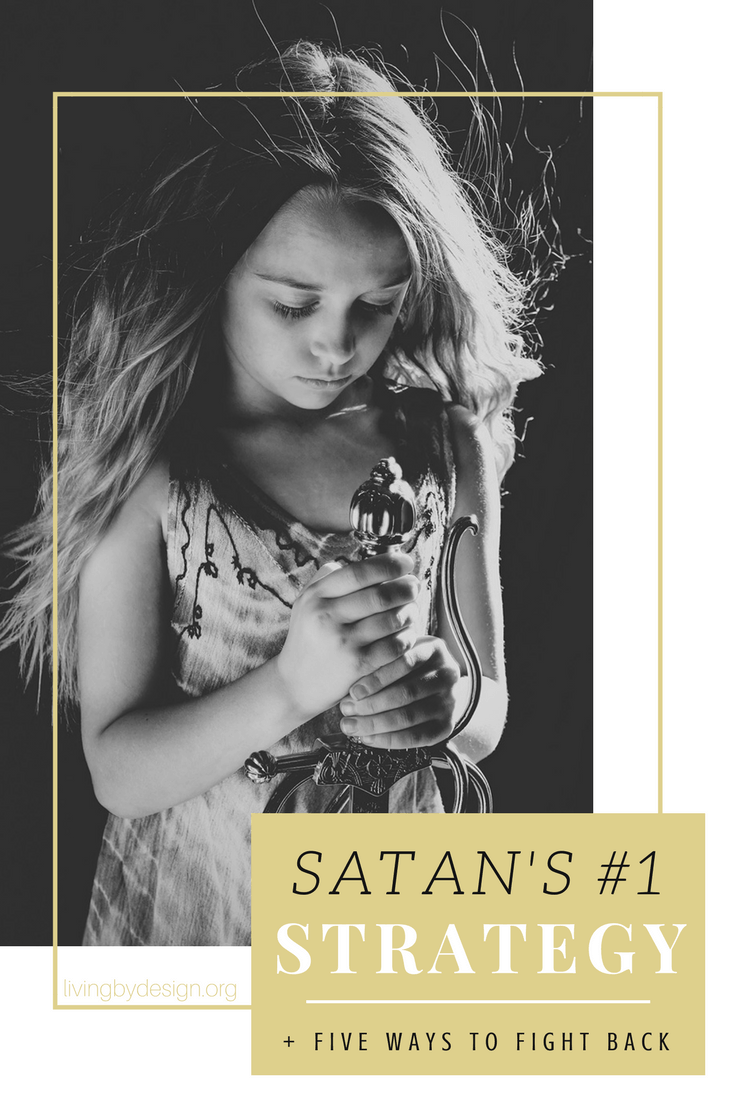 Today I'm sharing three things that make us susceptible to the enemy's schemes and five simple ways to fight back! Satan doesn't fight fair, and he's going to attack when we are feeling injured and isolated. So close ranks. Train the troops. And fight back! #christianliving #christianwoman #biblestudy