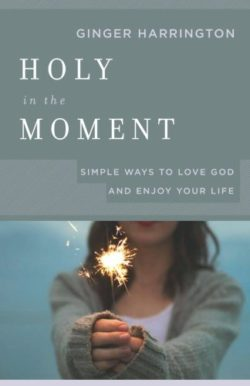 Holy in the Moment Christian Non Fiction by Ginger Harrington