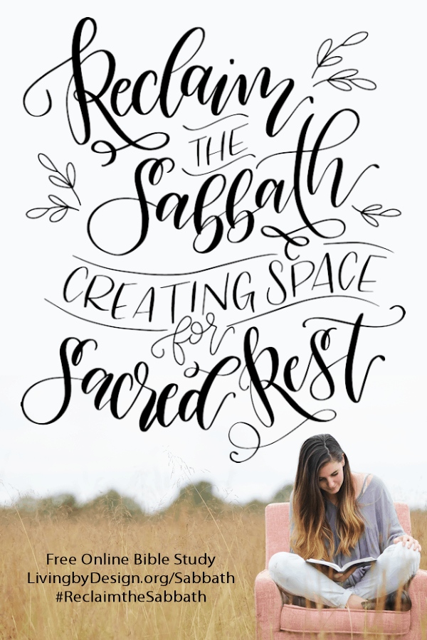 I invite you to join me for this FREE 6-week video series and guided Scripture reading plan on Sabbath rest.Together we will learn why God established the Sabbath and the glorious blessings it holds for us when we choose to receive it as a gift.Let's learn how to create space for sacred rest together! #biblestudy #reclaimthesabbath