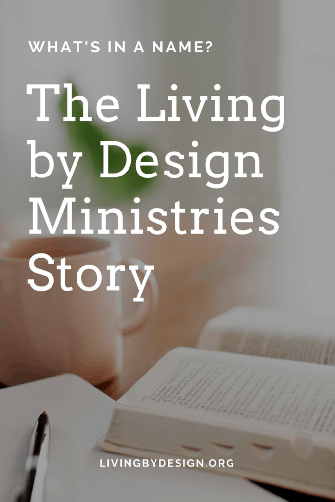 Here at Living by Design Ministries we are committed to helping you learn from God's Word, love God's Son, and lean into God's Spirit—so you can experience God's beautiful design for your life too! #biblestudy #nonprofit #christianwoman