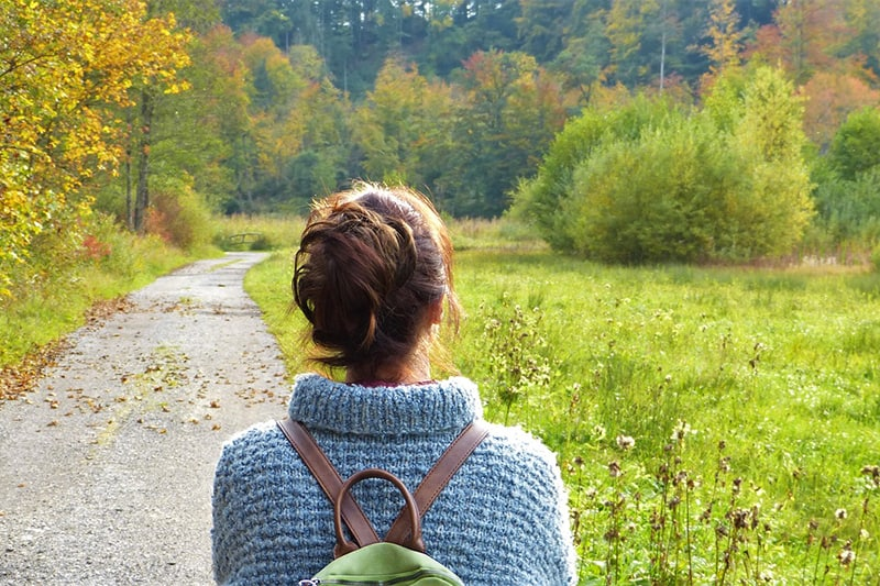 christian woman excited about her new adventure living by design ministries
