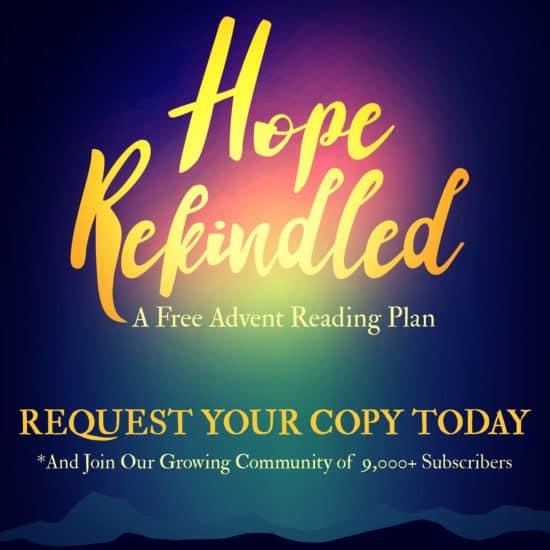 Free Advent reading Plan