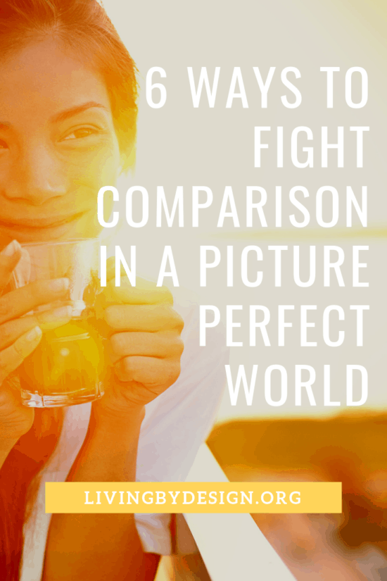 If you also struggle with comparison, here are six strategies, reminders, and realities you can use to guard your soul when comparison tries to rob you of the peace and love Christ offers.