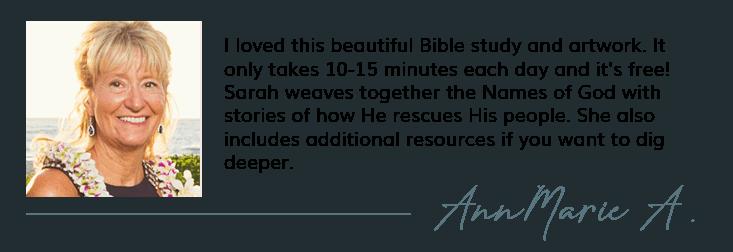 Free online Bible Study testimonial | RescYOUed Bible Study by Sarah Koontz at LivingbyDesign.org/rescyoued. #RescYOUedStudy