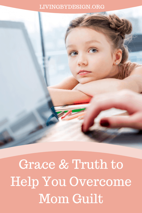 "Whether you are an at-home mom or a working mom, God has called you to your role and He has promised to equip you for the task! Don't let ""mom guilt"" deceive you into believing that somehow you are not following God's will for your life. Instead you can experience His grace and truth to help you find freedom from lie that ""you are not enough""."