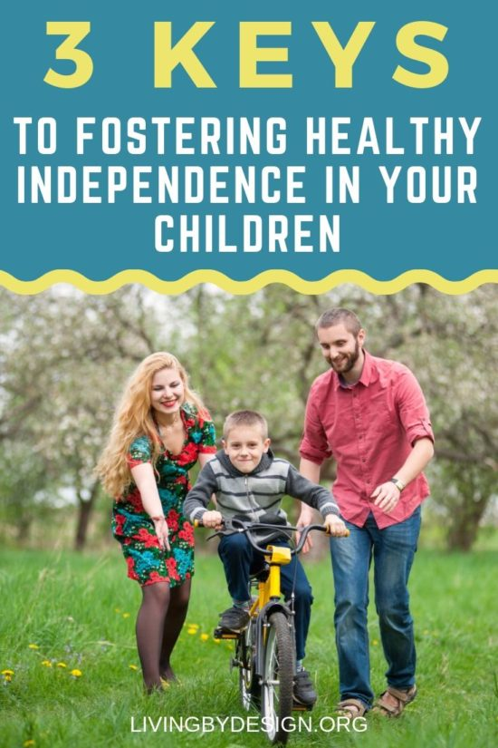 To foster healthy independence in our children means effectively working ourselves out of a job. As parents, it can be scary to feel like we are no longer needed. However, independence is a valuable ingredient of maturity in childhood. So, how do we, as parents foster healthy independence in our children? Jenn shares 3 key tools to help you find success along the way.