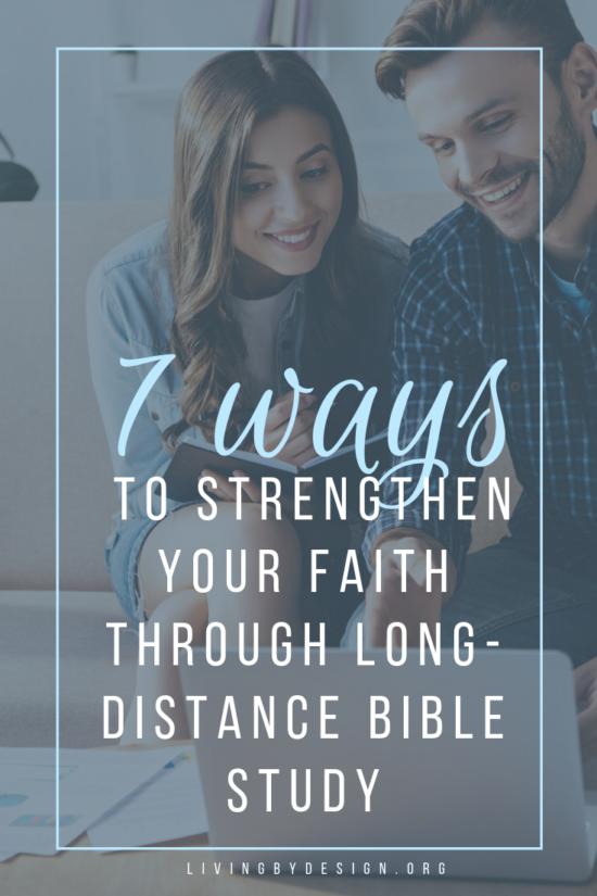 The purpose of today's article is to help you utilize the power of connectivity to strengthen your relationship with God and your fellow Christians, whether they live near or far away. This is a list of ways I've dug into God's Word and into fellowship during times of transition and busyness. If you're in a similar season, I hope one of these methods works for you! | Long-Distance Bible Study