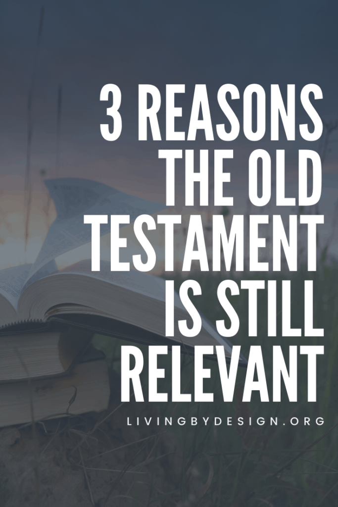 The Old Testament is not just a prologue to the life of Jesus. It is an important part of Scripture that reveals God's heart, our faith history, and builds a foundation for our understanding of the New Testament. So let's talk about how the Old Testament is still relevant today, shall we? Let's uncover the beauty of the Old Testament and discover why it is still relevant for Christians today.