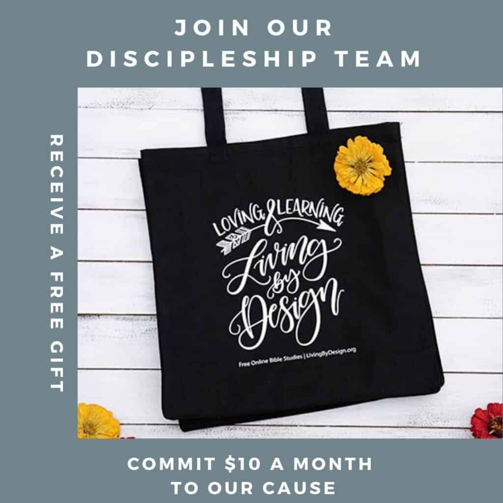 Join our discipleship team   Double your impact this giving season