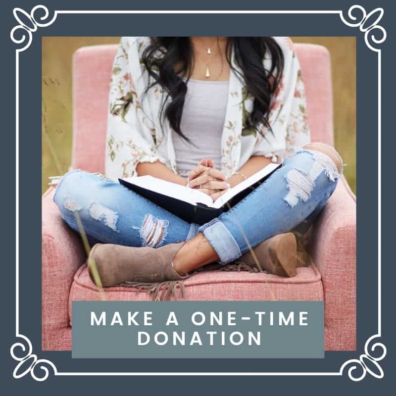 Make a one-time donation | Double your impact this giving season