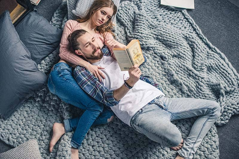 Christian husband and wife hoping to learn the value of praying Scripture over their marriage