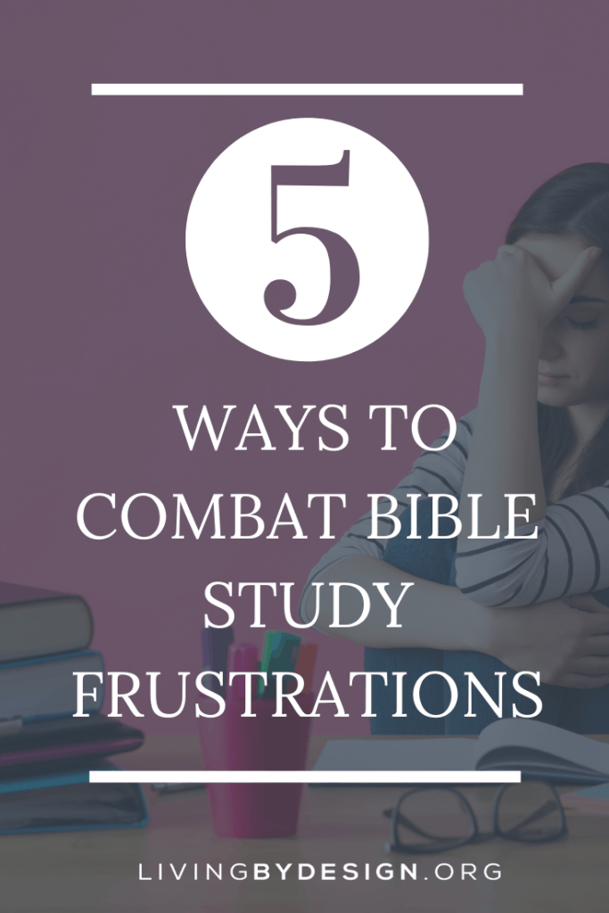 Here are some simple ways to combat Bible study frustrations and experience true fellowship with God during your personal bible study time.