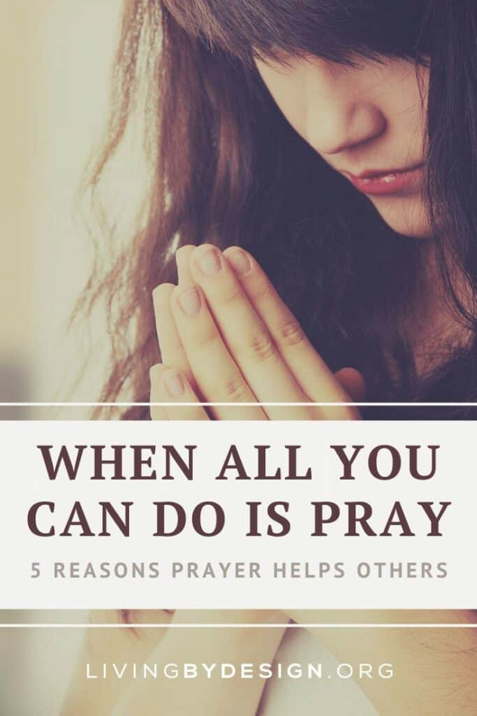 When All You Can Do is Pray Pinnable