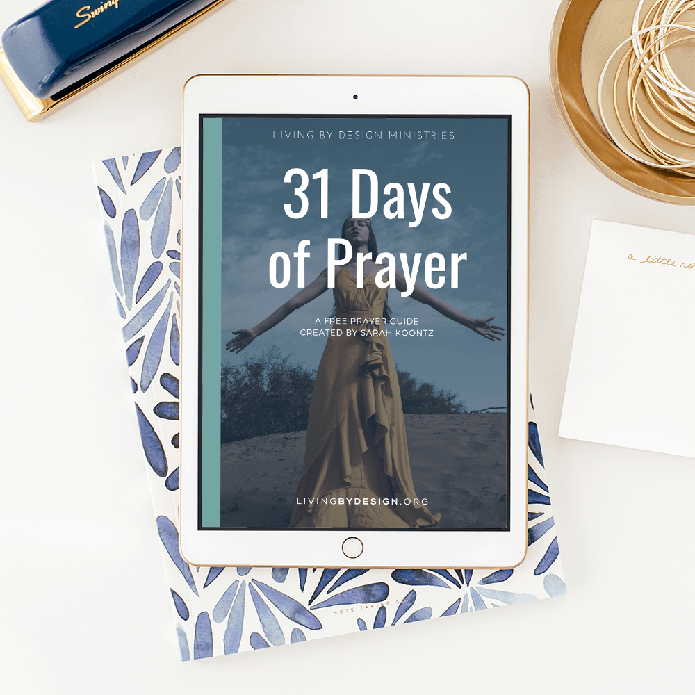 31 Days of Prayer Mock 1