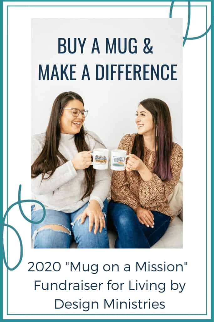Living by Design Ministries exists to equip Christians with the truth they need to fight the enemy of their souls through deepening their faith by encouraging daily Bible study and application. And you can help! Your purchase of a mug will help us deliver free online Bible studies to inboxes around the world. #mugonamission