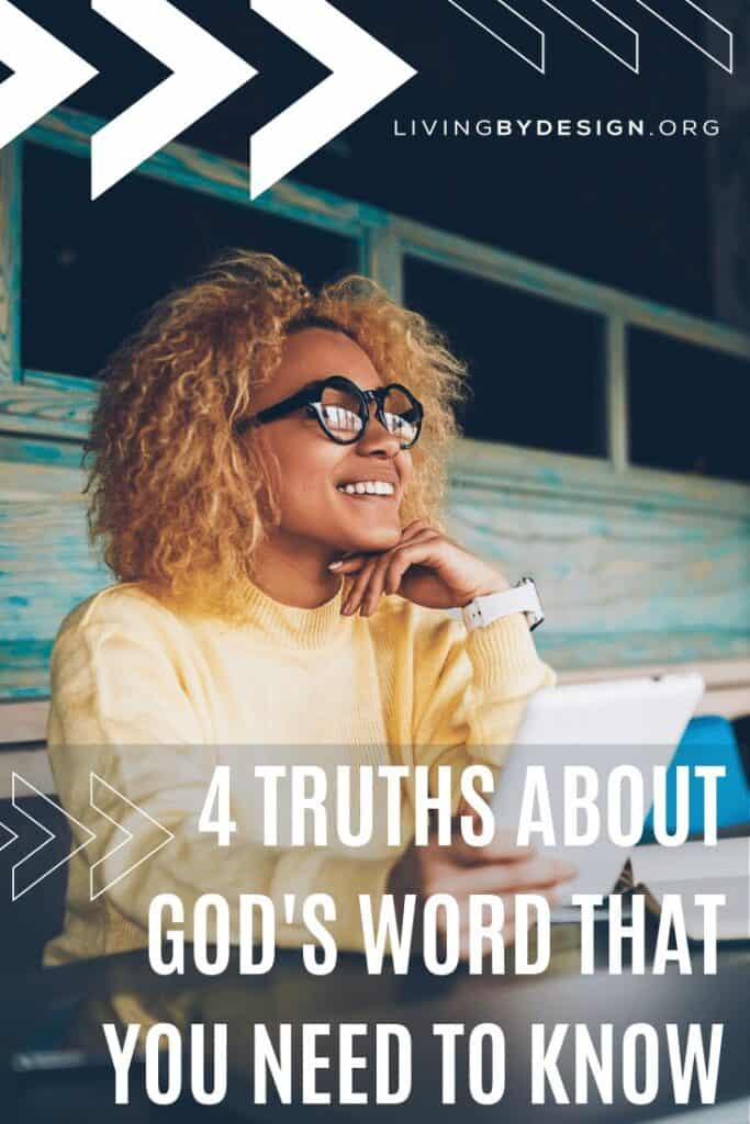 Reading the Bible is about more than finding something that impacts our lives; it's about knowing God intimately and entering into conversation with Him. Here is the truth about God's Word that you need to know!