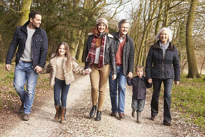 Multi Generation Family On Countryside Walk | Parenting with Joy, Confidence, and Purpose