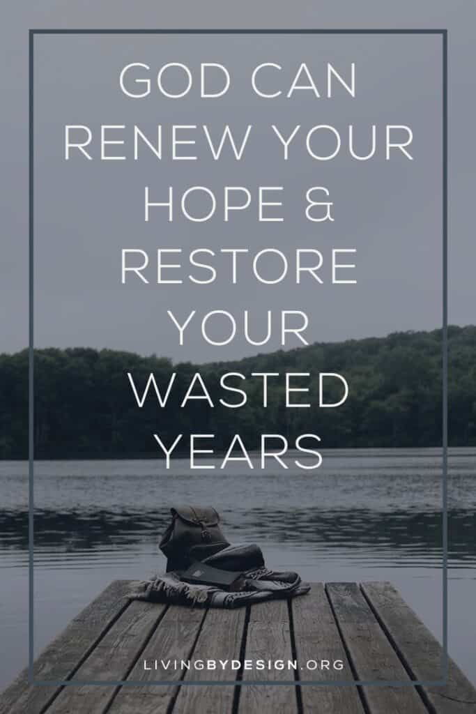 "Like Moses, your wasted years may have eroded your confidence and caused you to wonder, ""Who am I for God to use me?"" But Jesus' blood has bought your redemption. And part of that redemption is your restoration. 