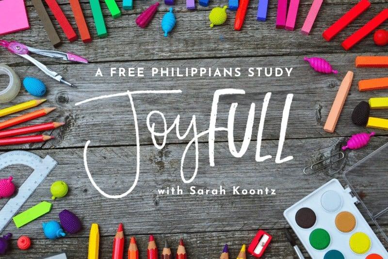 Free JoyFULL Bible Study