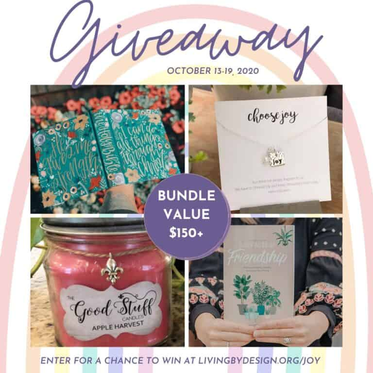 JoyFULL Giveaway Week 1