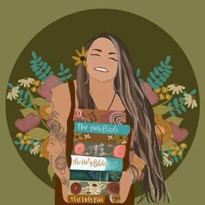 Sparrows & Wildflowers