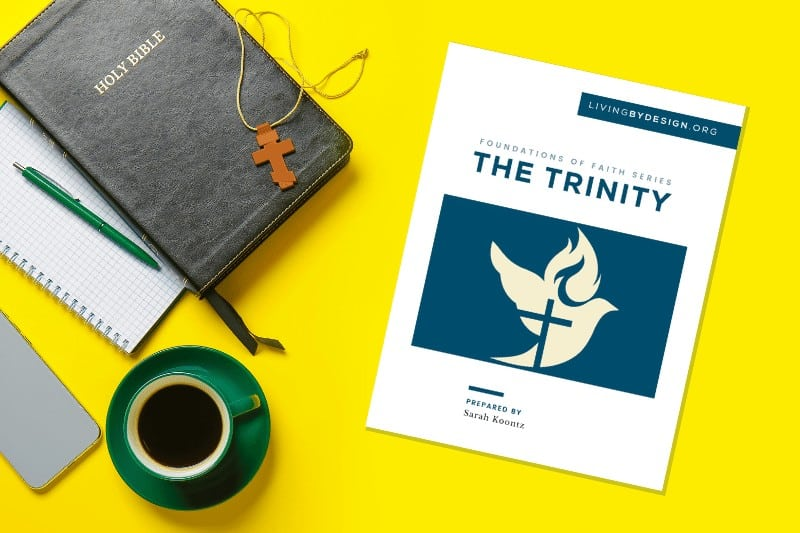 Free printable resource on the doctrine of the trinity
