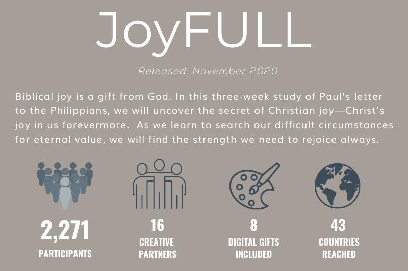 JoyFULL Study Statistics | 2020 Annual Impact Report