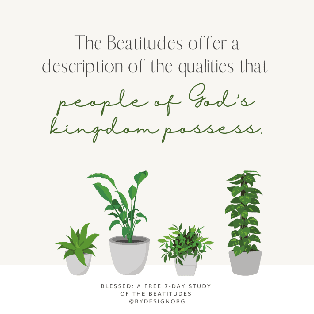 Day 2 Quote Graphic - Free Beatitudes Study | A 7-Day Digital Bible Study with Sarah Koontz