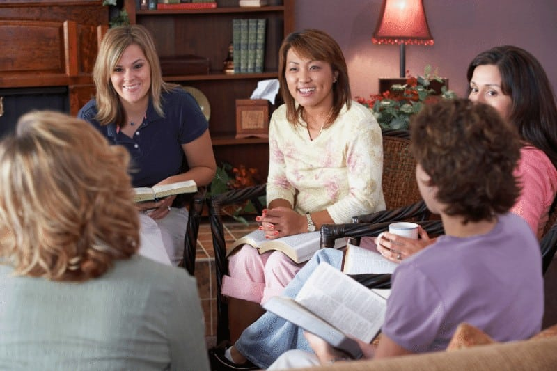 woman's bible study group  | How to be Intentional Leaders