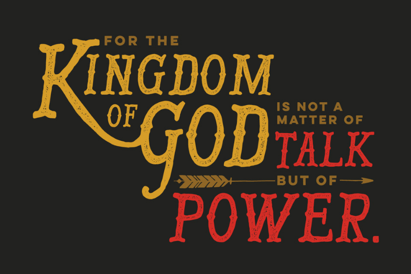 For the Kingdom of God is not a matter of Talk but of  Power | 4 Leadership Principles from the Life of Billy Graham