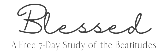 free beatitudes study title banner