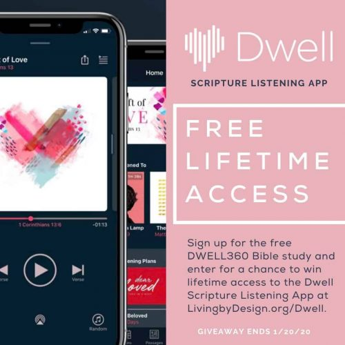 Dwell Scripture Listening App Giveaway