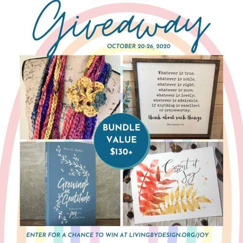 JoyFULL Giveaway Week 2