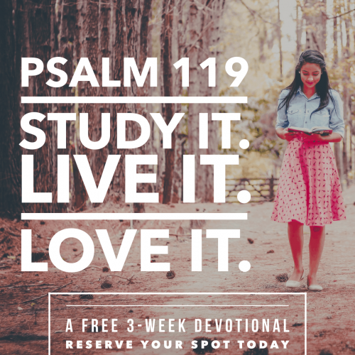 psalm 119 sign up graphic